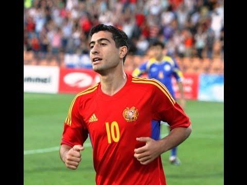 Все 9 голов Геворга Казаряна за сборной Армении
