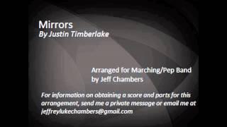 Mirrors (Justin Timberlake) Marching/Pep Band Arrangement