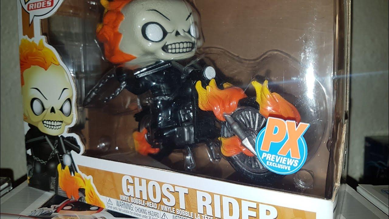 Ghost Rider US Exclusive Pop Ride Funko--Ghost Rider