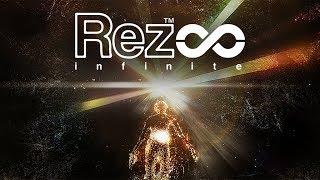 PlayStation VR [Gameplay, REZ INFINITE, ZONE X!] - PS4PRO