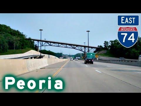 I-74 East thru Peoria, IL