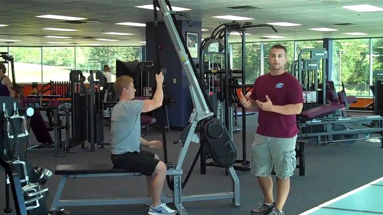 Rope pull down exercise benefits