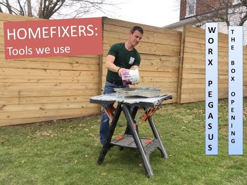 Worx Pegasus Folding Workbench Sawhorse Review Doovi