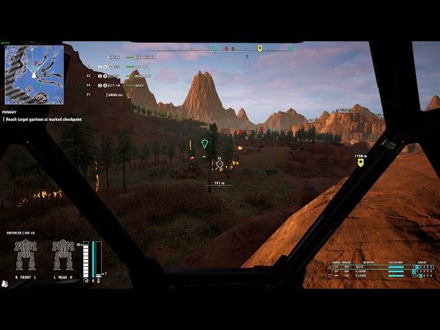MechWarrior 5: Mercenaries - Heroes of the Inner Sphere PC gameplay - Demolition Man