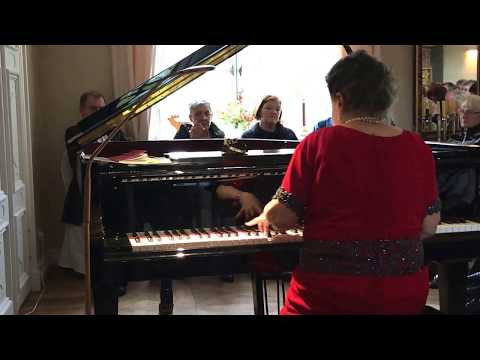 Marcella Crudeli plays F. Chopin: Ballade n.1 op.23 - Concert in Berlin