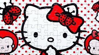 Hello Kitty Jigsaw Puzzle Games