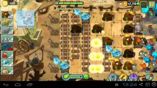 Big Bad Butte Level 43 to 44 Coconut Party PvZ 2 Endless Zone