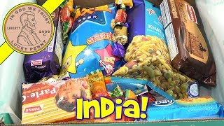 Try Treats November Monthly Subscription Box - Candy & Snacks From India