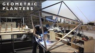 GEOMETRIC Steel Planters | Welding - Episode 004