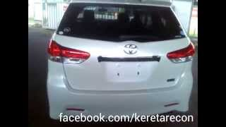 [krm695]Toyota wish 1.8s 2012 white (recon Unreg)  for sale malaysia, kajang