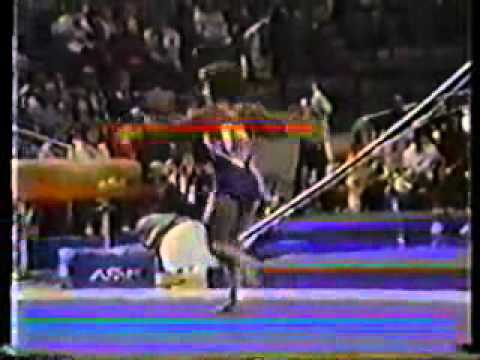 mary lou retton 1983 american cup floor exercise