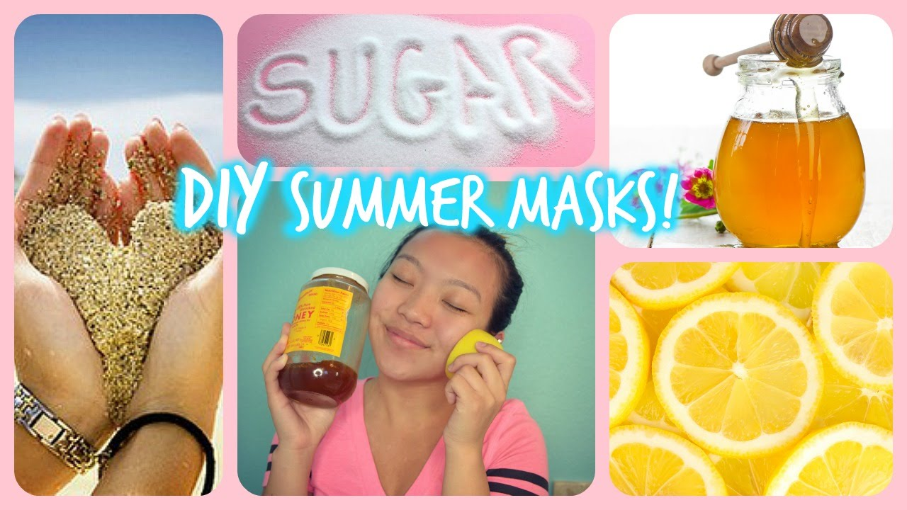 Best Diy Summer Facial Scrubs Masks For Acne Oily Skin Dry Skin Blackheads L Xionggmelindaa