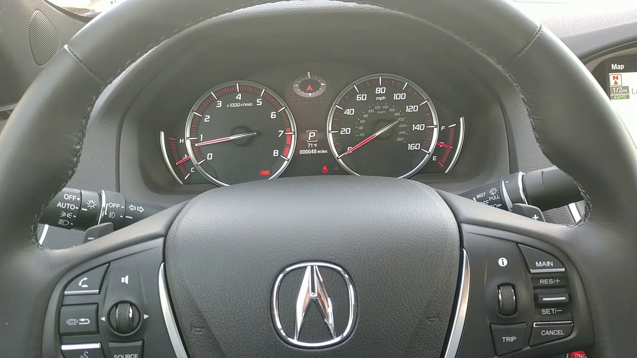 How to turn off lane departure warnings on the 2018 Acura TLX  MS