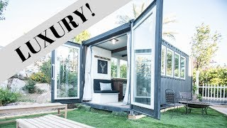 Luxury Container Homes - Tiny House Tour
