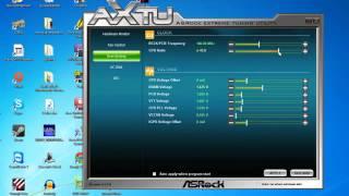 intel i5 2500k Übertakten Tutorial AsRock Tuning Utility