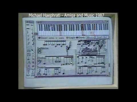 Haephrati  Amiga and Music 1987 מיכאל האפרתי - עיבוד מוסיקאלי