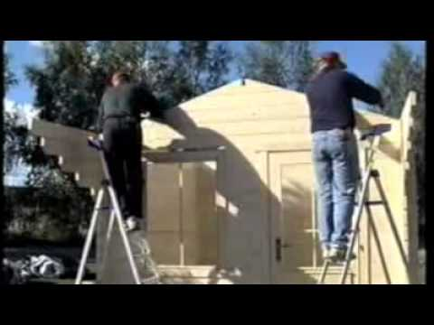 Building a Lillevilla 20 log cabin