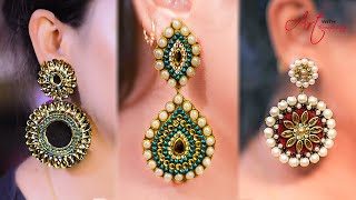 3 easy long Earring | Earring for Long earring lovers | Best for party-wear