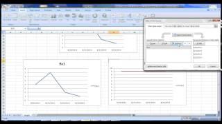 كيفية إنشاء السلوك الرسوم البيانية على Excel - فيديو 1