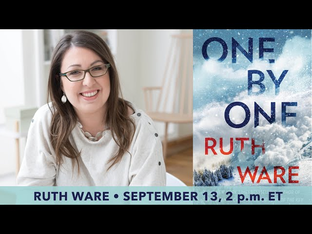A Conversation with #1 New York Times Bestselling Author Ruth Ware