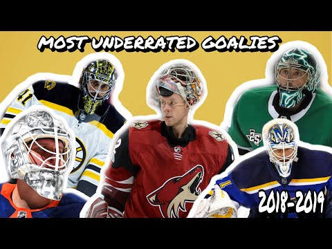 Most underrated goalies this season! Do u agree with this list?