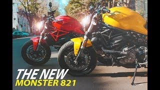 Ducati Monster 821 Cinematic | Ducati VST Chennai | Tamilnadu