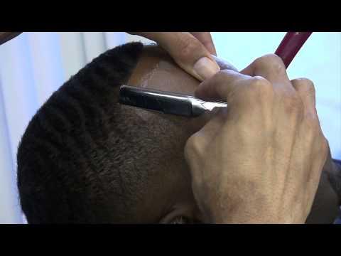 Low Skin Fade - Razor Line - Step by Step Instructions - David Warren