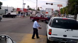 Saliendo de Santa Ana Sonora