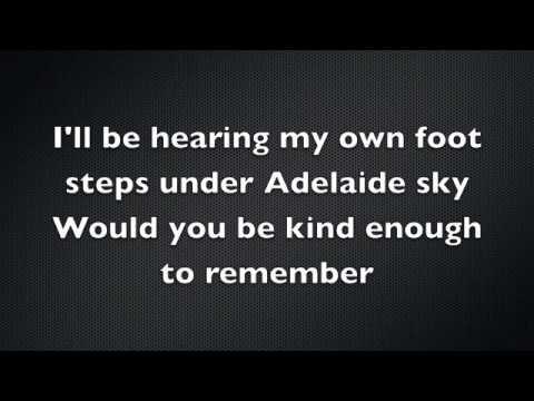 Adhitya Sofyan - Adelaide Sky (Lyrics)