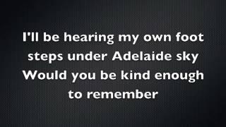 Video Adhitya Sofyan - Adelaide Sky (Lyrics) download MP3, 3GP, MP4, WEBM, AVI, FLV Juni 2018