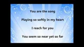 Repeat youtube video David Archuleta - You Are My Song (Lyrics)
