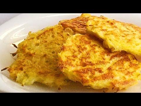 Капустные Оладьи с Сыром кулинарный видео рецепт