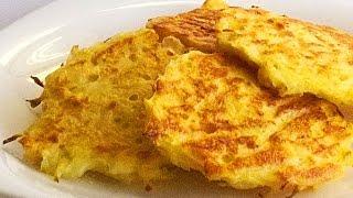 Капустные Оладьи с Сыром кулинарный видео рецепт(Оладьи необычны всем – и составом, и способом приготовления, и, конечно, вкусом. Возможно, их вообще нельзя..., 2014-12-05T06:00:00.000Z)