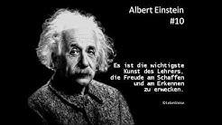 Albert Einstein: Die 10 besten Zitate