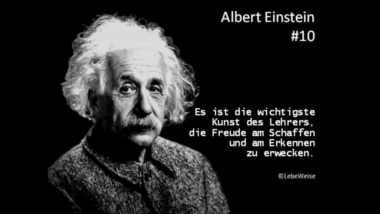 Albert Einstein  Besten Zitate Youtube