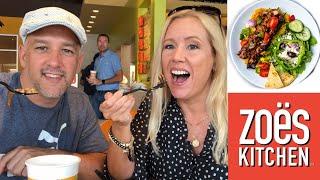 Restaurants in den USA: Zoes kitchen 🥗🥙| Sissi die Auswanderin 🇺🇸