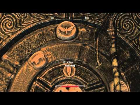 Skyrim Bleak Falls Barrow Claw Door
