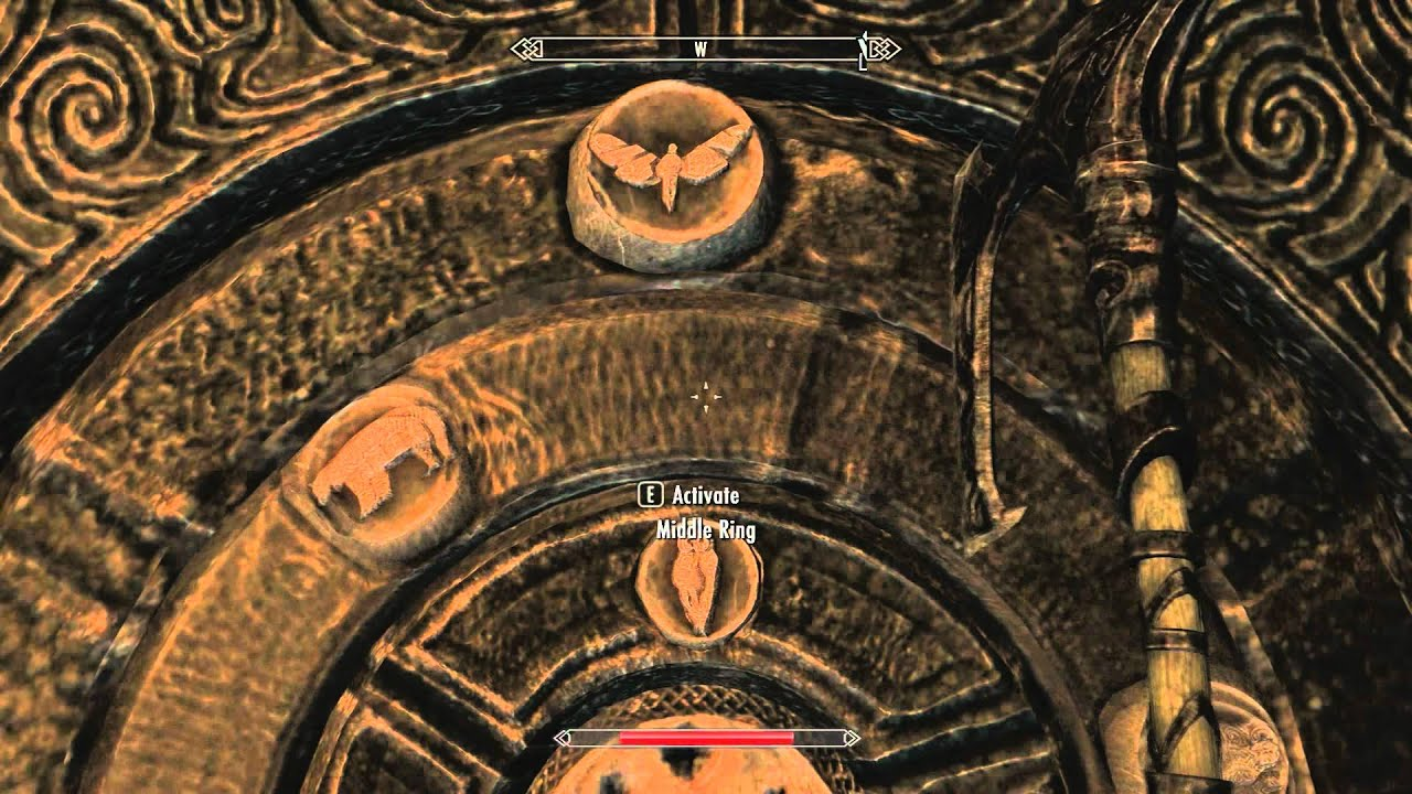 & Skyrim Bleak Falls Barrow Claw Door - YouTube