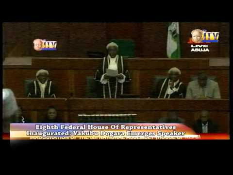 Yakubu Dogera Emerges Speaker, Federal House Of Representatives