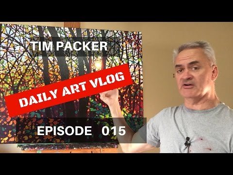 Getting the Viewer's Eye To Dance - Daily Art Vlog - Episode 15