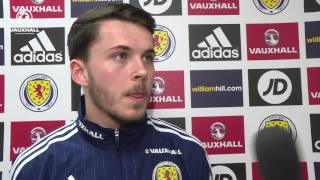 Lewis Morgan on his Man of the Match performance
