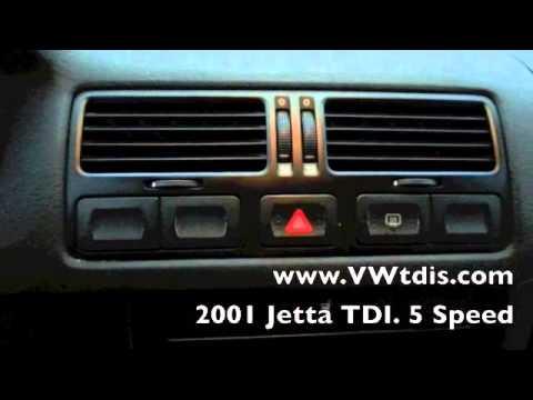 2001 VW Jetta TDI. 5 speed. A/C. Almost 50 MPG