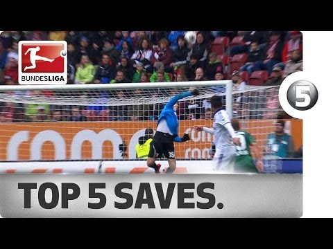 Top 5 Saves - Weidenfeller, Fährmann, Adler and More with Magnificent Reactions