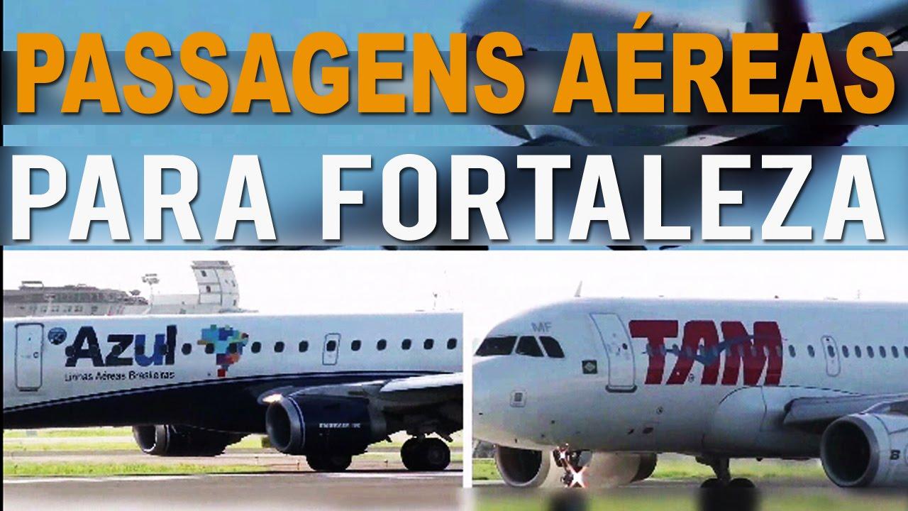 Passagens aéreas para Fortaleza