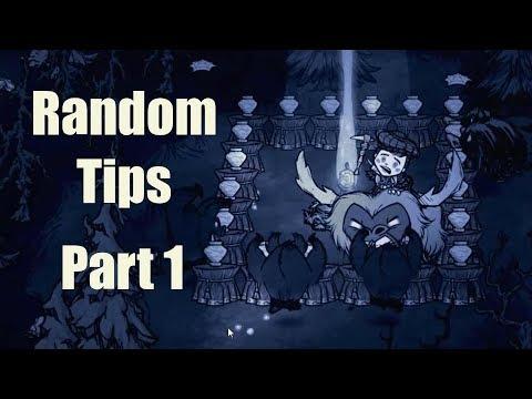 DST Tips: Random Stuff Part 1