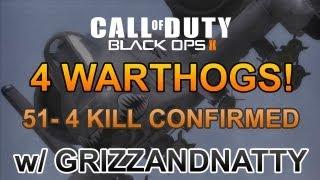 Black Ops 2 - 4 Warthogs 51-4 K/C w/ GrizzAndNatty