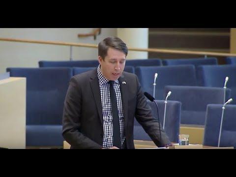 Richard Jomshof (SD) VS Kulturministern Alice Bah Kuhnke (MP)