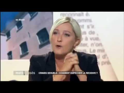 Marine Le Pen dénonce Frédéric Mitterrand & Polanski.mp4
