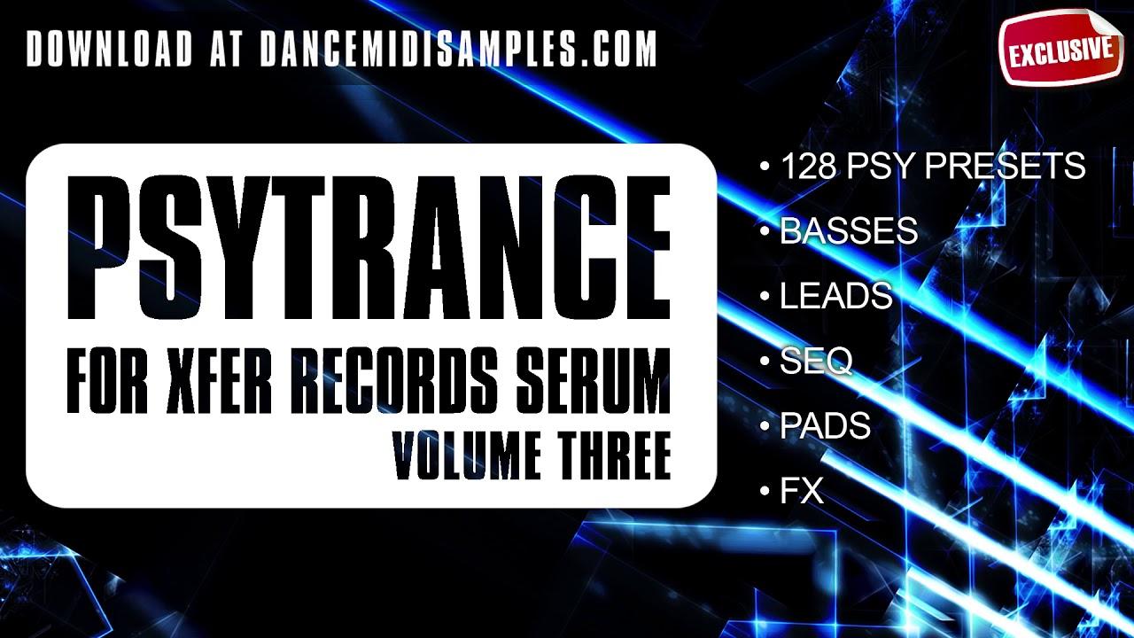 Serum Psytrance Presets Vol 3