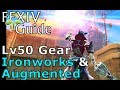 FFXIV Sprout Guide to Lv50 Gear (Ironworks)